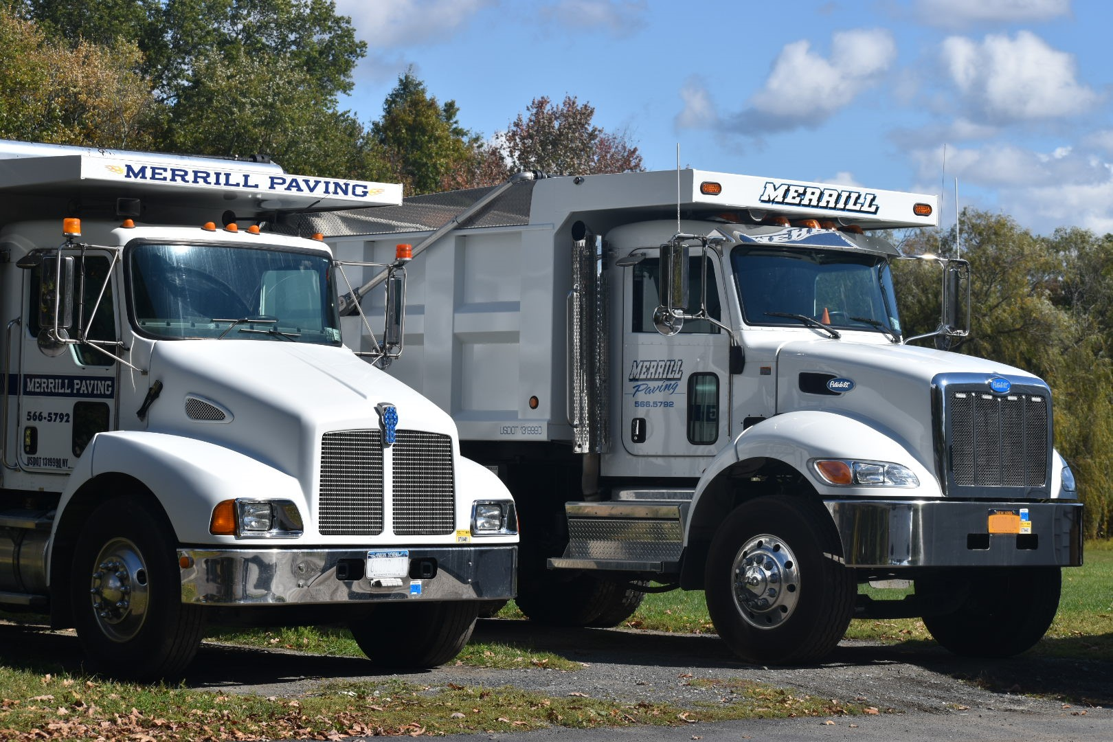 merrill paving company trucks